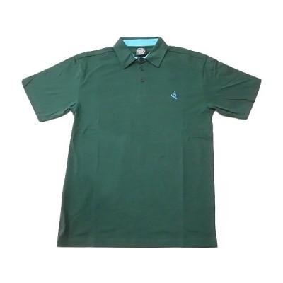 SANTACRUZ サンタクルーズ スクリーミングハンド ポロシャツ ハンターグリーン