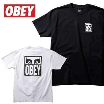 『OBEY/オベイ』 OBEY2142 OBEY EYES ICON 2 T-SHIRT /オベイ アイアイコン 2 Tシャツ -全2色- カジュアル/プリント/ロゴ/リブ/ストリート[OBEY2142]