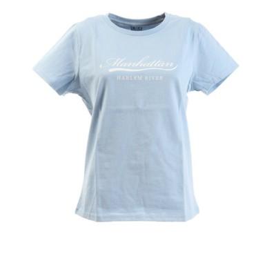 Tシャツ レディース 半袖 プリント 872PA0BGI3156LBLU