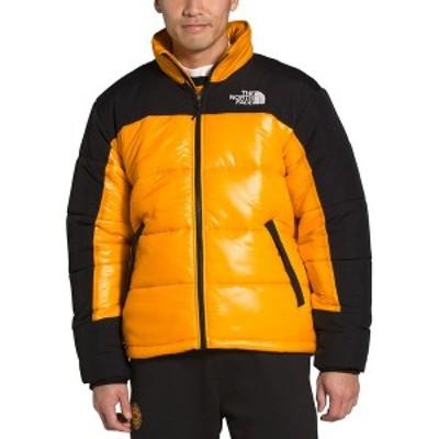 ノースフェイス メンズ ジャケット&ブルゾン アウター Men's HMLYN Relaxed-Fit  Colorblocked Insulated Jacket Summit Gold/TNF Black