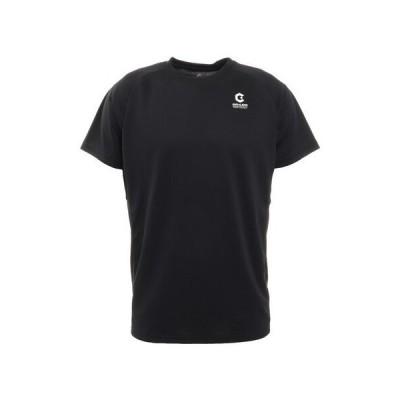 ジローム(GIRAUDM) 洗える抗ウイルス素材 ナノガード 吸汗速乾 UV 半袖Tシャツ 863GM1TP6607 BLK 生地 服 洗える UVカット 速乾 (メンズ)