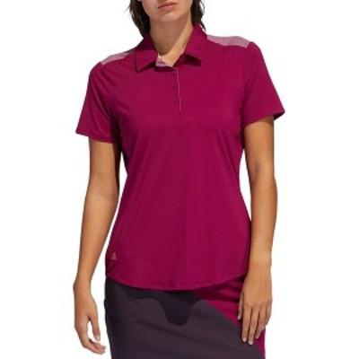 アディダス レディース シャツ トップス adidas Women's Ultimate365 Golf Polo Power Berry