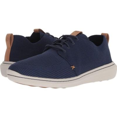 クラークス Clarks メンズ スニーカー シューズ・靴 Step Urban Mix Navy Textile Knit