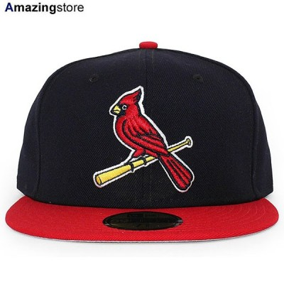 ニューエラ 59FIFTY セントルイス カージナルス 【MLB OLD AUTHENTIC COLOR GAME 1999-2006 ALT FITTED CAP/NAVY-RED】 NEW ERA ST.LOUIS CARDINALS