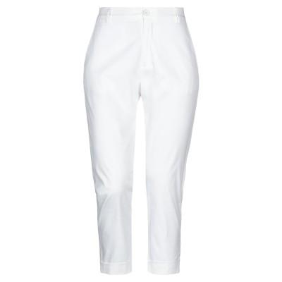 PIANURA パンツ ホワイト 40 コットン 97% / ポリウレタン 3% パンツ