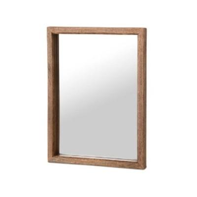 ミラー 壁掛け 木製 マンゴーウッドC'est La Vie ミラー Lpo-41050