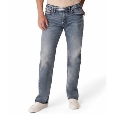 シルバージーンズ メンズ デニムパンツ ボトムス Gordie Classic Straight Leg Jeans Indigo
