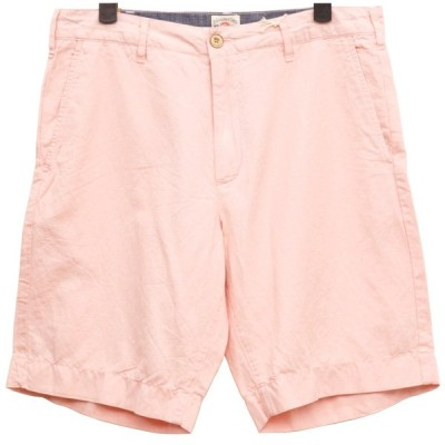 FAHERTY BRAND (ファリティ ブランド) ガーメントダイ Malibu ショーツ ピンク メンズ