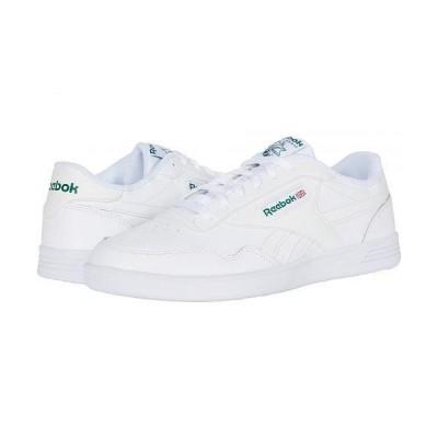 Reebok リーボック メンズ 男性用 シューズ 靴 スニーカー 運動靴 Club Memt - White/White/Clover Green