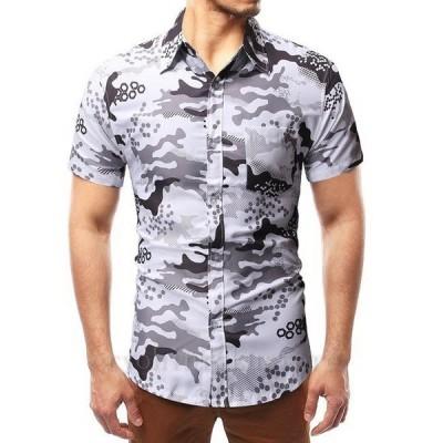 メンズ 半袖 アロハシャツ ハワイアンシャツ new アロハシャツ ビーチ 祭り M L XL 2XL メンズ用 夏春 メンズファッション