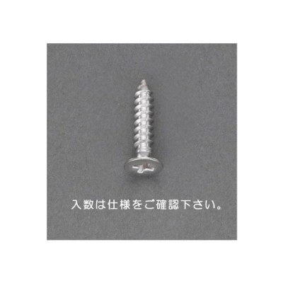 2 x 12mm 皿頭タッピングビス(ステンレス製/38本) EA949AL-206