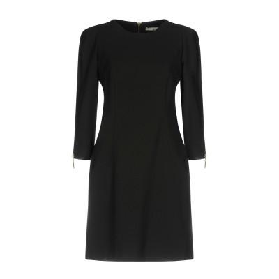 レリッシュ RELISH ミニワンピース&ドレス ブラック 44 ポリエステル 88% / ポリウレタン 12% ミニワンピース&ドレス