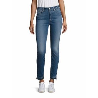 7 フォー オールマンカインド レディース パンツ デニム High-Waist Released Hem Skinny Ankle Jeans