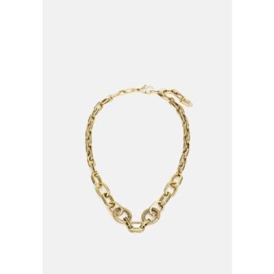 レディース ネックレス NECKLACE - Necklace - antique gold-coloured