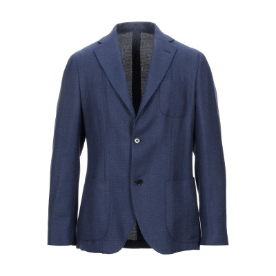 SARTITUDE Napoli テーラードジャケット ダークブルー 52 バージンウール 100% テーラードジャケット