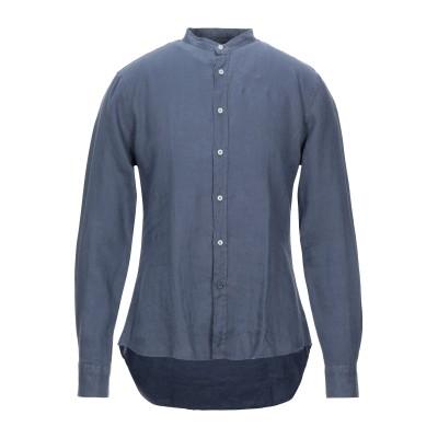 アティピコ AT.P.CO シャツ ブルーグレー 38 リネン 100% シャツ