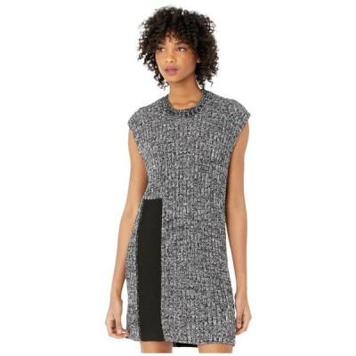 エムエム6メゾンマルジェラ レディース ドレス  Intarsia Easy Sweater Dress