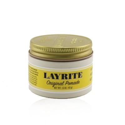 レイライト ポマード Layrite オリジナルポマード (ミディアムホールド、ミディアムシャイン、水で洗い流せます) 42g ホワイトデーお返し