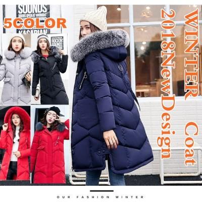 綿服 保温コットン ダウンコート フード付き 秋冬 中綿 カジュアル衣装 女ウエア 防風 防寒アウター 大きいサイズ 送料無料 レディース