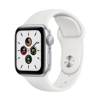 Apple Watch SE GPSモデル 40mm MYDM2J/A ホワイトスポーツバンド[アップル][アップルウォッチ][新品][送料無料]