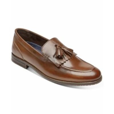ロックポート メンズ スリッポン・ローファー シューズ Men's Style Purpose 3 Kiltie Tassel Loafers Tan