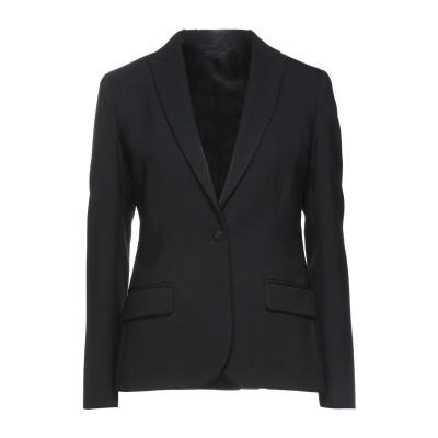 ブライアン デールズ BRIAN DALES テーラードジャケット ブラック 48 ポリエステル 53% / ウール 44% / ポリウレタン 3%
