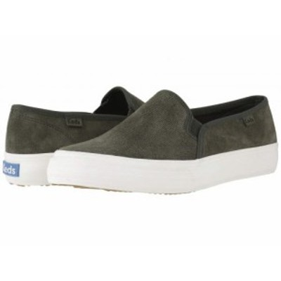 Keds ケッズ レディース 女性用 シューズ 靴 スニーカー 運動靴 Double Decker Suede Forest Green Suede【送料無料】