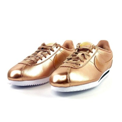 ナイキ NIKE コルテッツ CORTEZ SE GS Sneakers Casual Shoes Running 859569-901 カジュアル ランニング スニーカー Metallic Red Bronze White