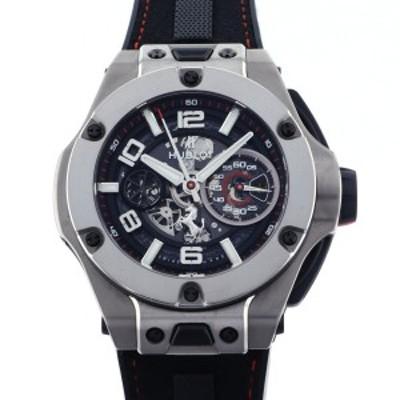 ウブロ HUBLOT ビッグバン フェラーリ チタニウム 402.NX.0123.WR ブラック文字盤 中古 腕時計 メンズ