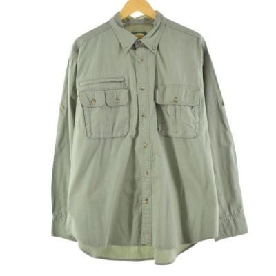 CALELA'S 長袖 フィッシングシャツ メンズL /eaa147393