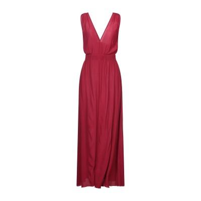 ANTONELLI ロングワンピース&ドレス ガーネット 38 レーヨン 100% ロングワンピース&ドレス