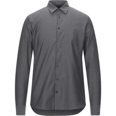ハマキホ HAMAKI-HO メンズ シャツ トップス patterned shirt Grey