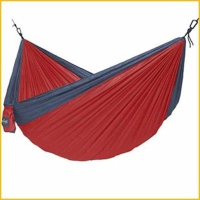 <送料無料*新品・未使用品*>NorEast Outdoors Double 2 Person Hammock ? Ultra Lightweight Nylon Camping Hammock, Portable