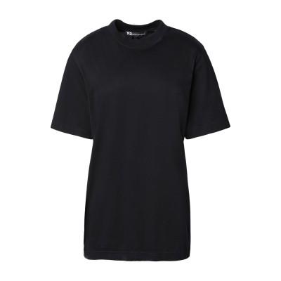 ワイスリー Y-3 T シャツ ブラック XXXS コットン 100% / ポリウレタン T シャツ