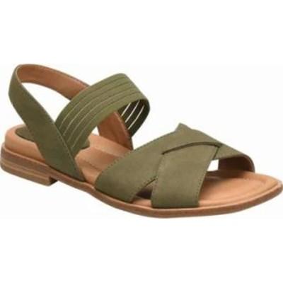 Comfortiva レディースサンダル Comfortiva Dixie Ankle Strap Sandal Oliv
