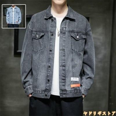 デニムジャケット デニムシャツ メンズ ジャケット デニムシャツ Gジャン ジージャン 長袖 ウォッシュ加工 カジュアルシャツ アウター