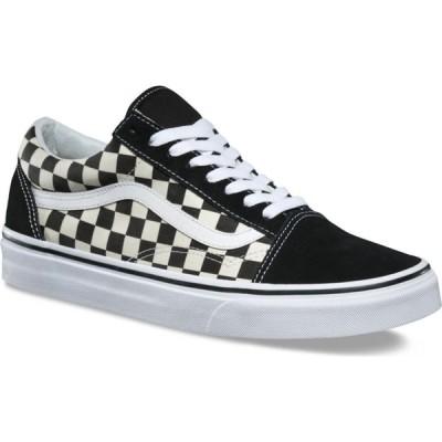 ヴァンズ Vans レディース スニーカー シューズ・靴 classic old skool shoes (Primary Check) Black/White