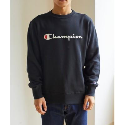 スウェット WEGO/Champion 裏毛ロゴプルオーバー