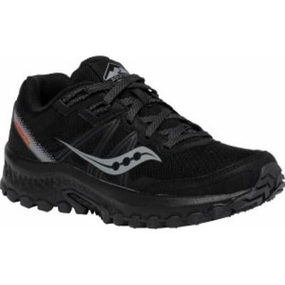 サッカニー レディース スニーカー シューズ Women's Saucony Excursion TR14 Trail Running Sneaker Black/Charcoal