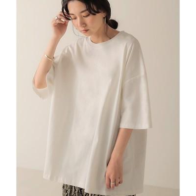 【ブージュルード】【WEB限定】ビッグシルエットクルーネックTシャツ