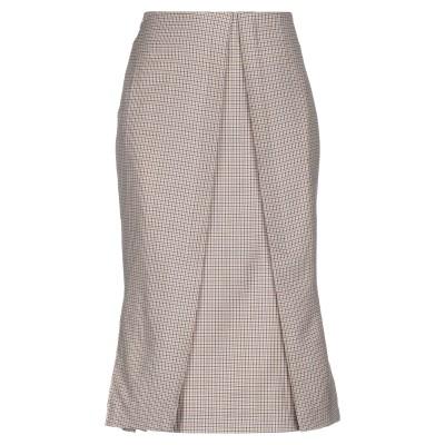 アールト AALTO 7分丈スカート ベージュ 38 ウール 100% 7分丈スカート
