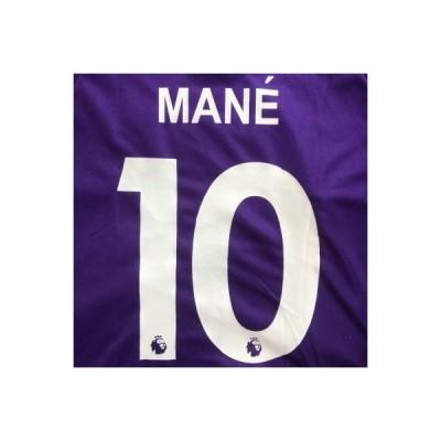 子供用 K048 リバプール MANE*10 マネ 紫 19 ゲームシャツ パンツ付 ジュニア ユニフォーム