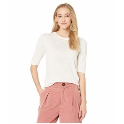 ケイト スペード ニット&セーター アウター レディース Pearl Pave Sweater French Cream