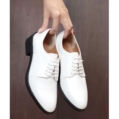 ZealMarket/SFW / おじ靴、美脚マニッシュレースアップシューズ WOMEN シューズ > ドレスシューズ