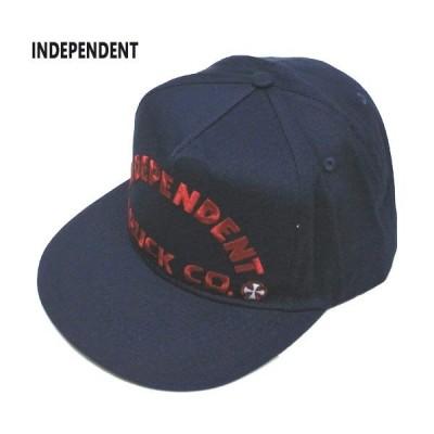 値下げしました!INDEPENDENT/インデペンデント ITC BOLD MID PROFILE SNAPBACK HATS NAVY CAP/キャップ HAT/ハット 帽子 キャップ トラッカー