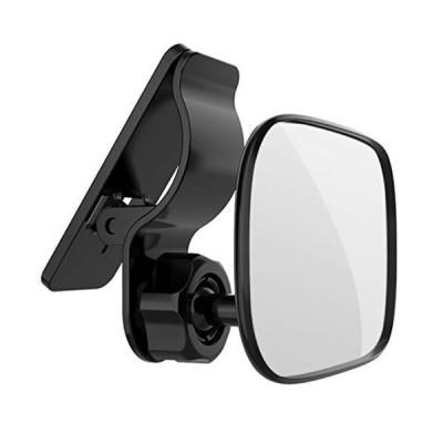AllBright 車用 ベビーミラー 車内ミラー インサイトミラー 鏡 後方 確認 安全 サンバイザー 差込み 子供 9cm×6cm