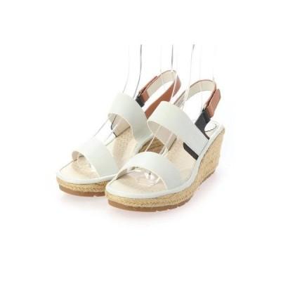 ヨーロッパコンフォートシューズ EU Comfort Shoes サンダルパンプス (ホワイト)