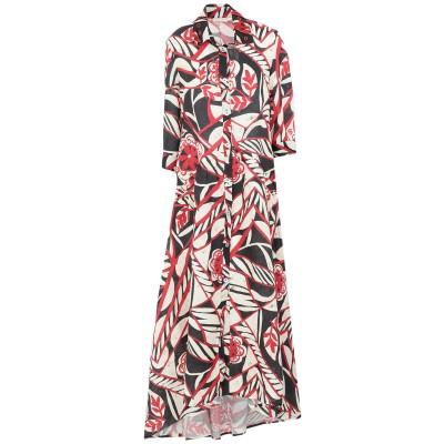 アンジュナ ANJUNA ロングワンピース&ドレス アイボリー XS リネン 100% ロングワンピース&ドレス