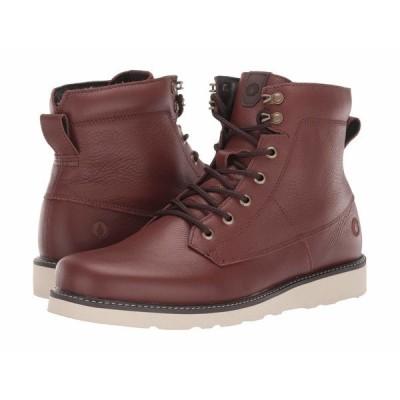ボルコム ブーツ&レインブーツ シューズ メンズ Smithington II Boot Brown