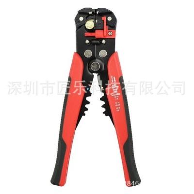 自動 ワイヤー ストリッパー レッド 高速 配線 皮むき 便利 コード 人気